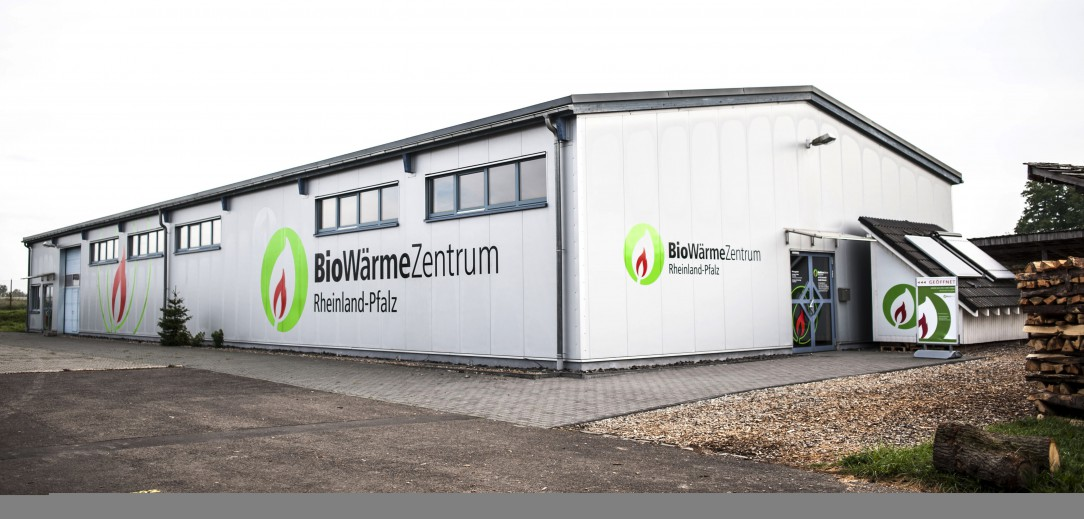 Neugestaltung des Biowärmezentrums Rheinland-Pfalz