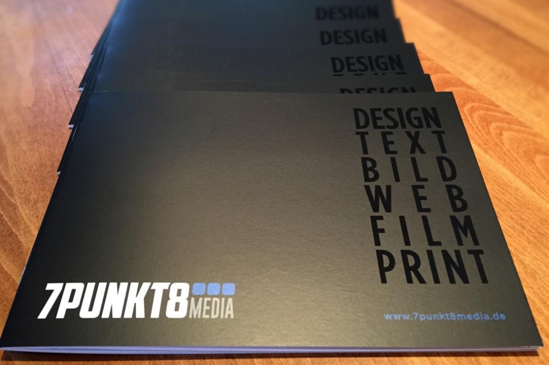 7Punkt8 Media Broschüren