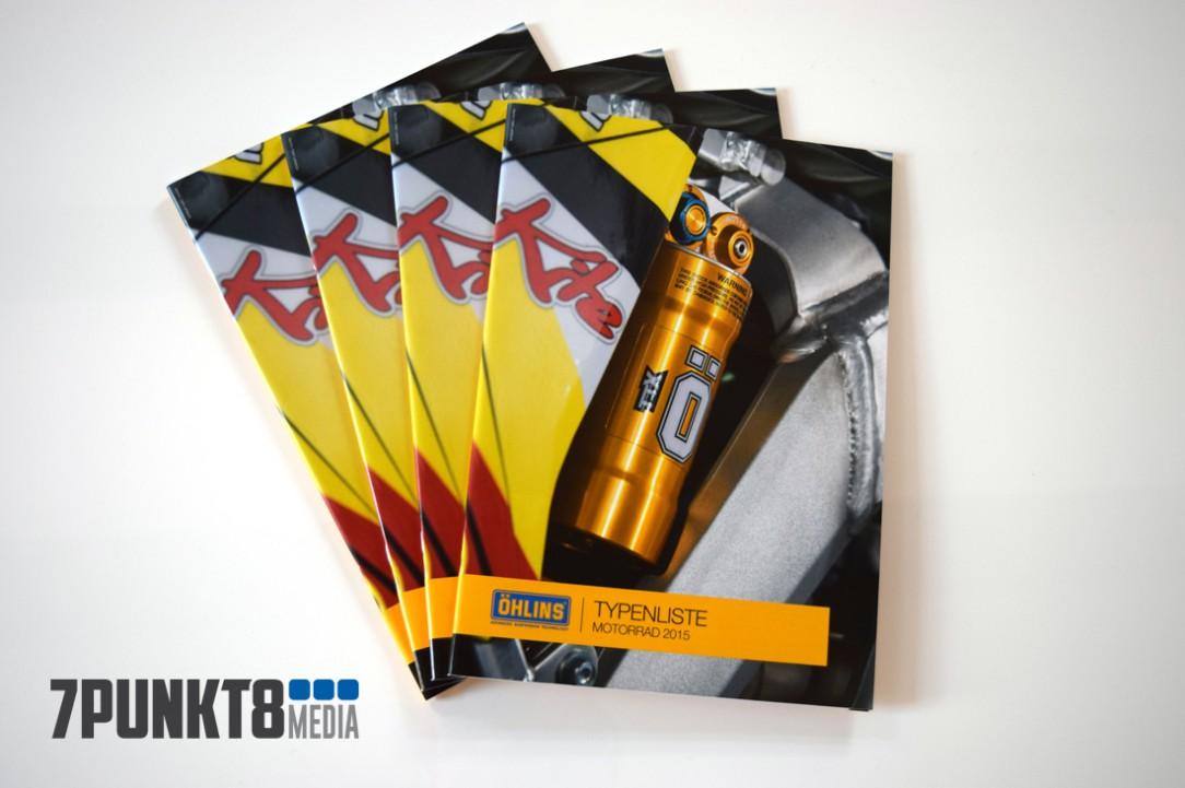 Öhlins Katalogcover 2015