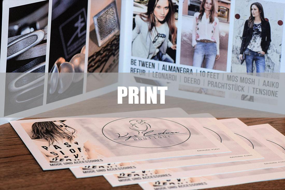 7Punkt8 Media ist ihr Partner für Printmedien wie Flyer, Kataloge oder Broschüren.