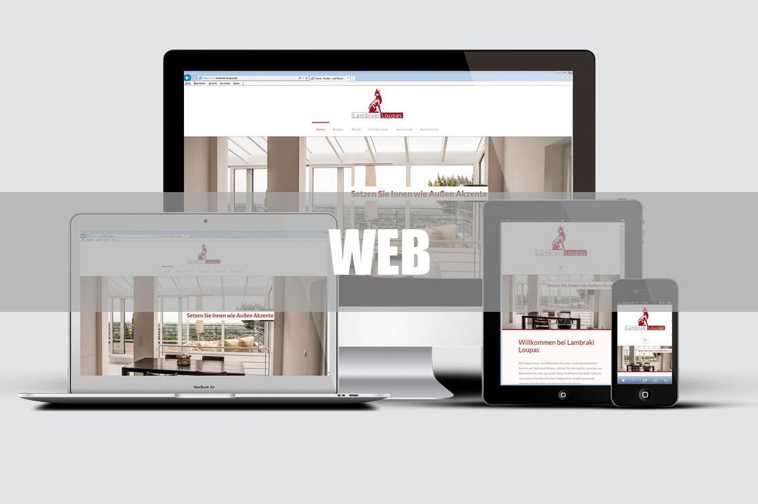 7Punkt8 Media kümmert sich um Ihr Webdesign und Webgestaltung.