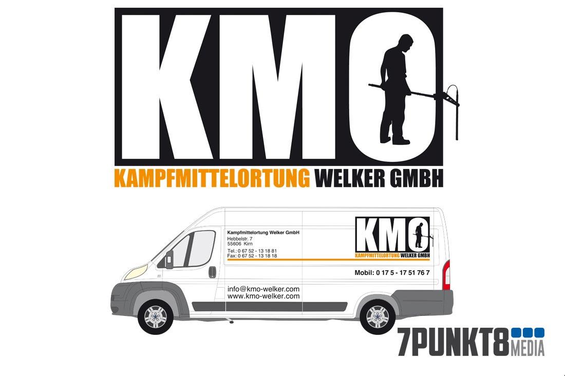 KMO Welker Logo-Gestaltung