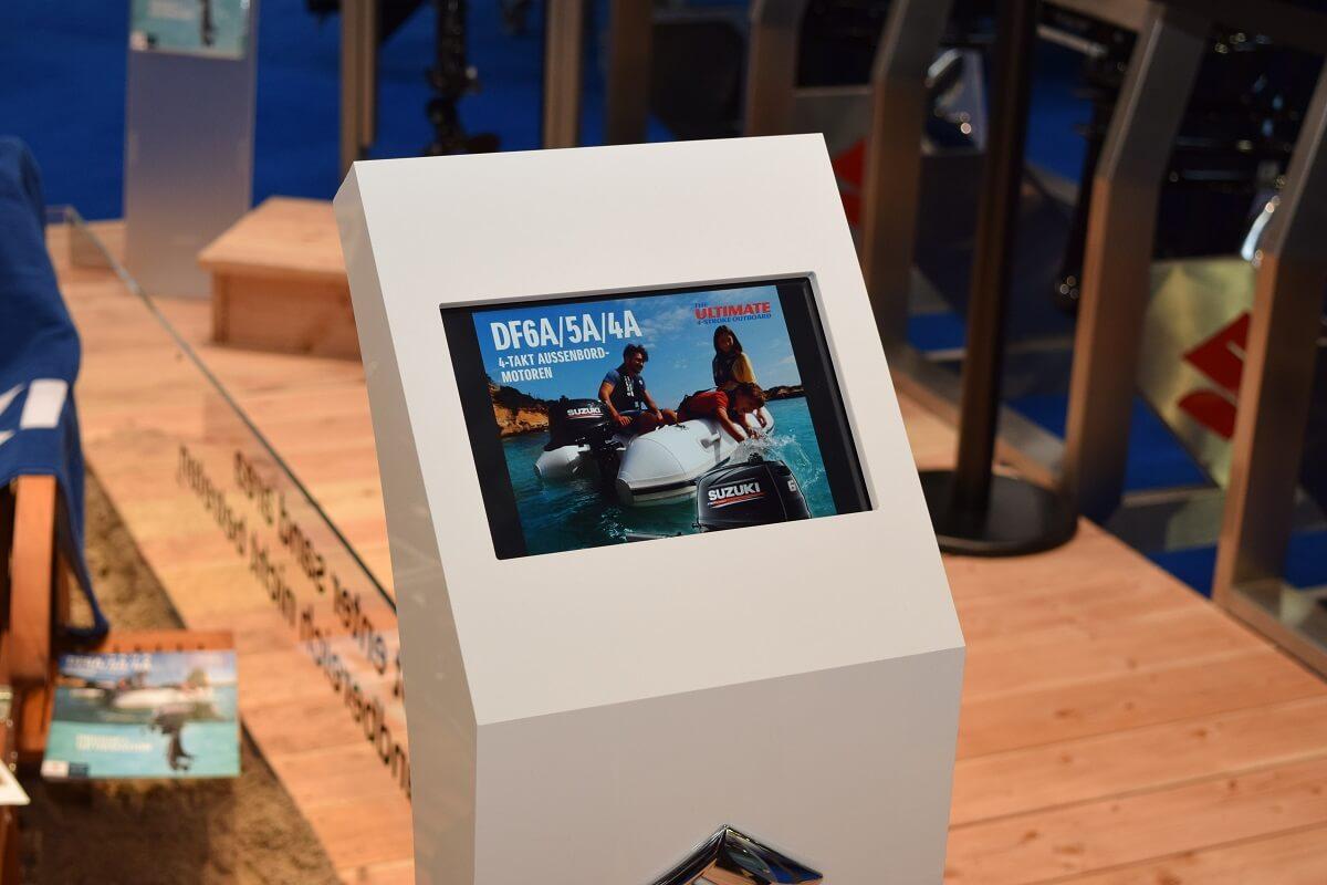 Suzuki und 7PUNKT8 Media auf der Messe Boot 2017