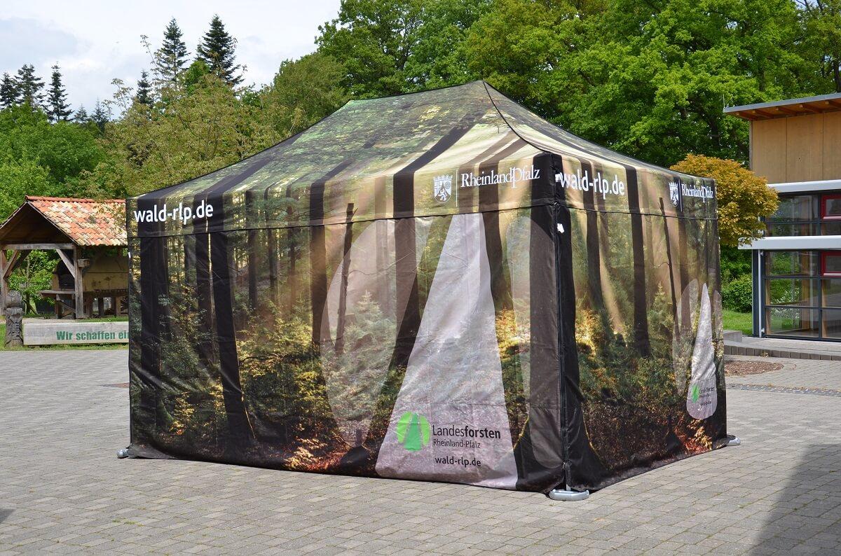 Event Zelte für Landesforsten Rheinland-Pfalz