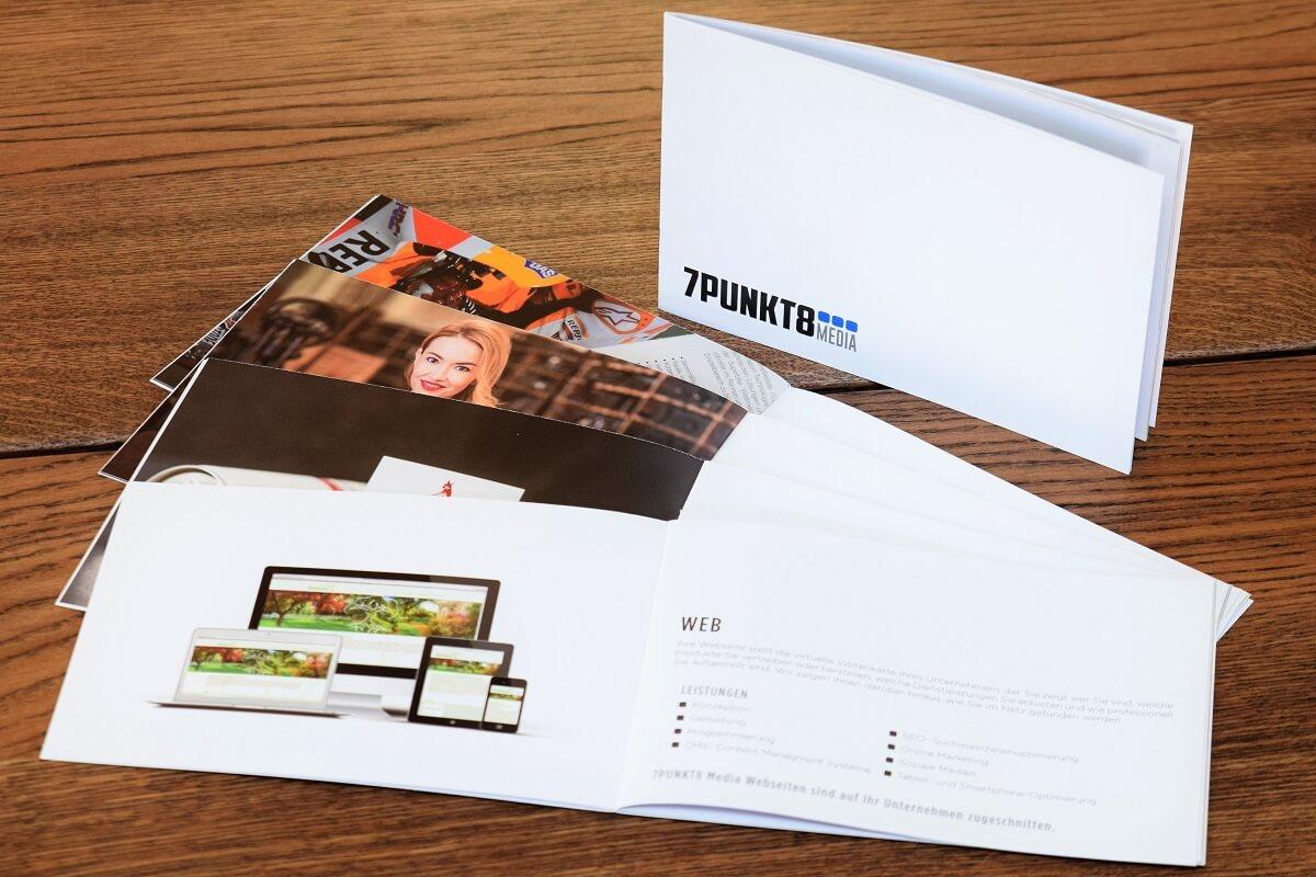 7PUNKT8 Media Broschüre Werbeagentur Bad Sobernheim