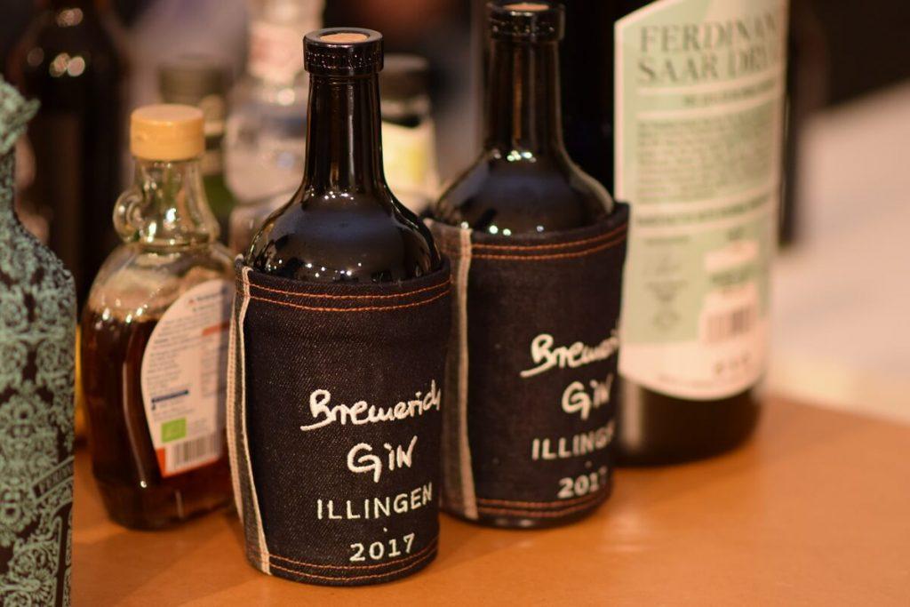 Darf nicht fehlen: Gin made by Bremerich.