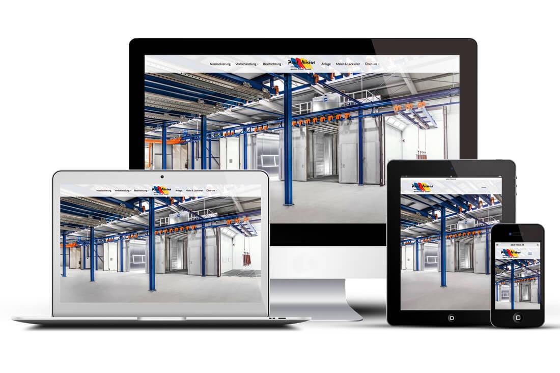 Paul Nisius Webseite mit 360 Grad Aufnahmen
