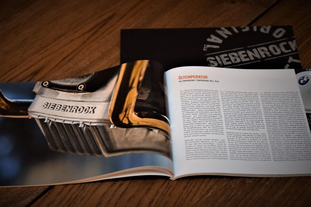 Überragende Fotos im Siebenrock-Katalog der ein Magazin ist.