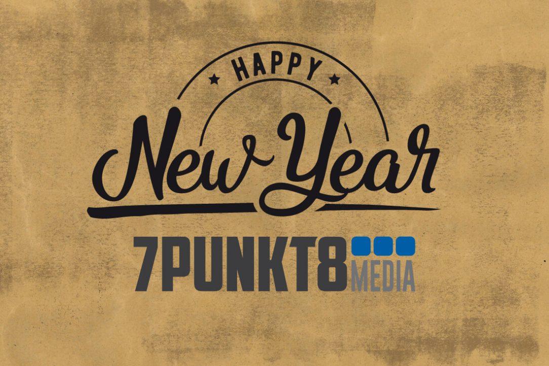 Frohes neues Jahr 7PUNKT8 Media Werbeagentur Kirn