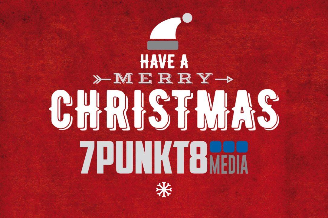 Frohe Weihnachten 7PUNKT8 Media Werbeagentur Bad Sobernheim