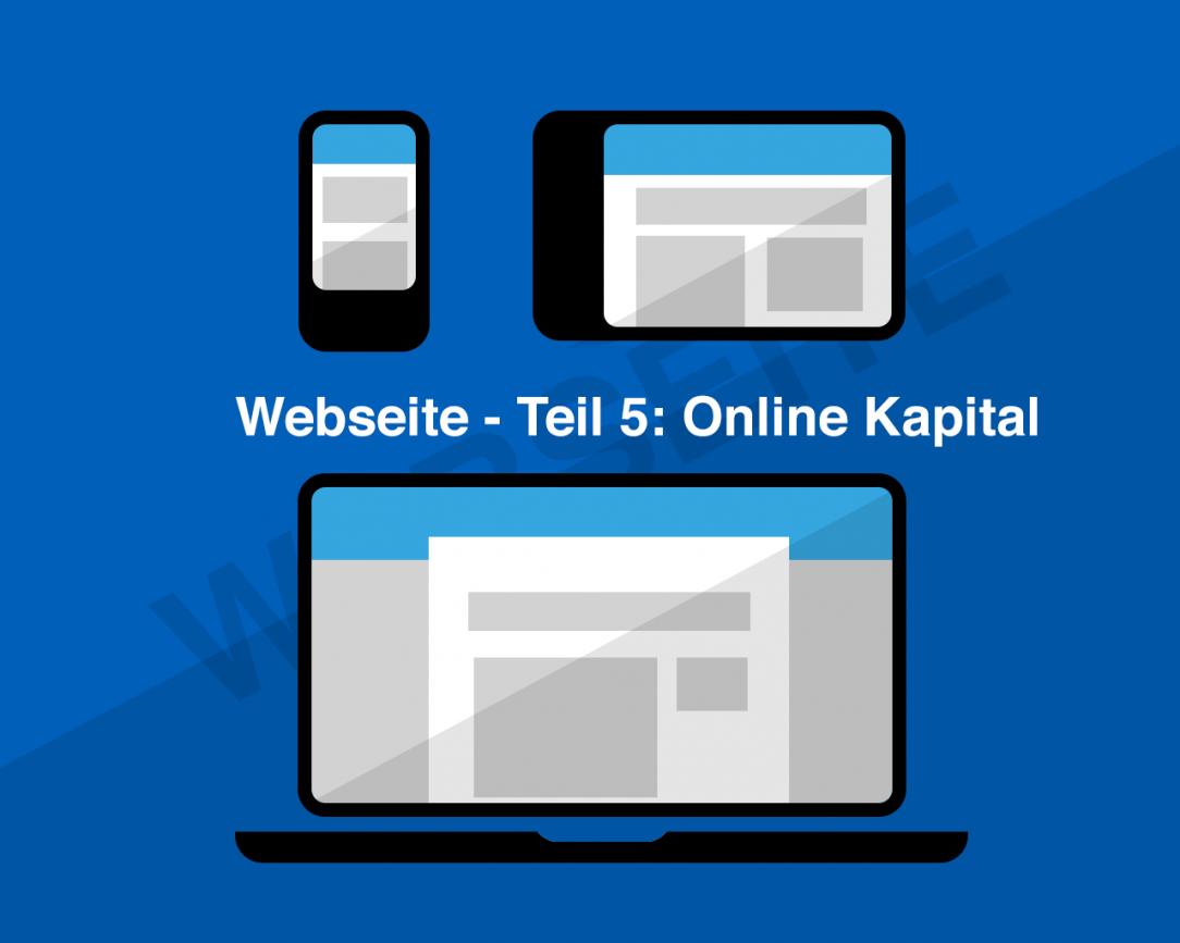101 Online Kapital - Teil 05 Webseite